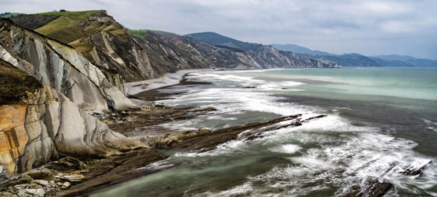 The Flysch Route, Zumaia (Basque Country)